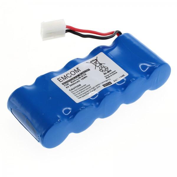 Akku für Rolladenantrieb Bosch Somfy D14, K8/10/12/17, Rollfix, wie 710055, F...