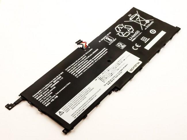 Akku für Lenovo ThinkPad X1 Carbon und X1 Yoga, wie 00HW028, SB10F46466, 15.2...