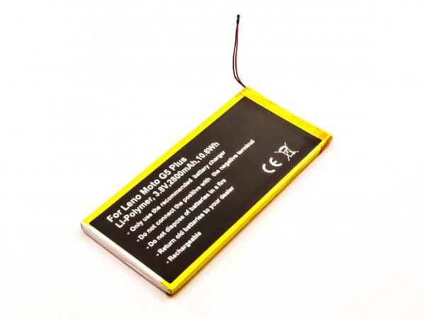 Akku für Motorola Moto G5 Plus, Lenovo: Moto G5 Plus, XT1684, XT1685, wie HG40, SNN5984A