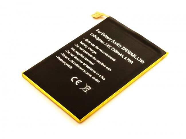 Akku für Sony Xperia C6502 C6503, X, ZL, Odin, CN3, L35A, L35I, LT35A u.a, wi...