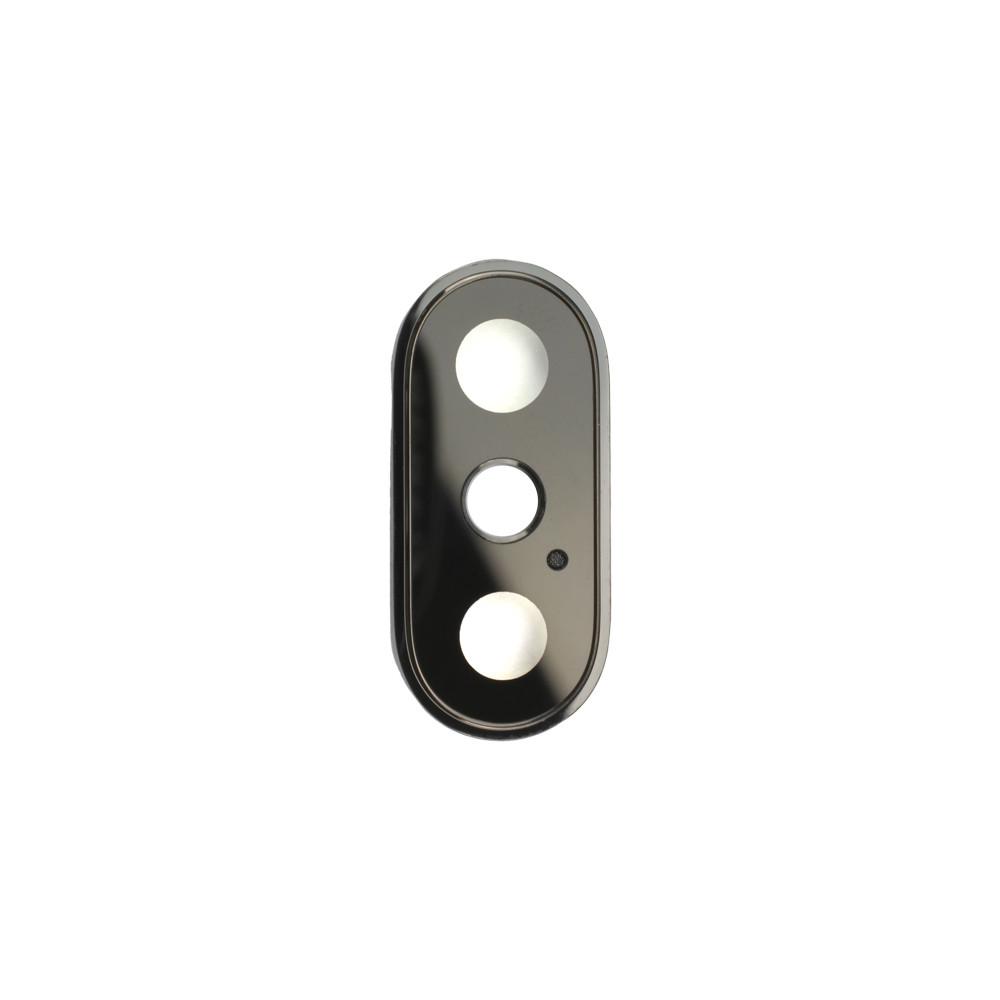 Apple Rücken- /Hauptkameralinsen mit Rahmen, passend für iPhone XS, schwarz