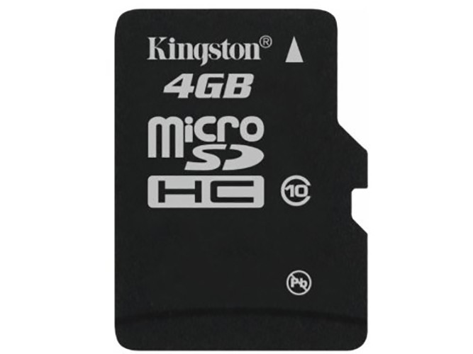 SanDisk, Kingston Speicherkarte micro-SD HC Card (Trans Flash), 4 GB, Class 10