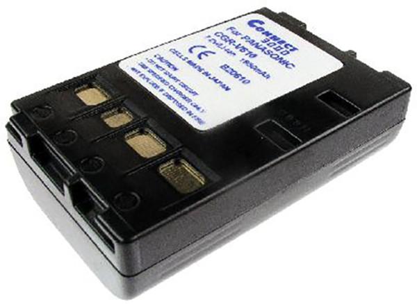 Akku wie Panasonic CGR-V610, anthrazit
