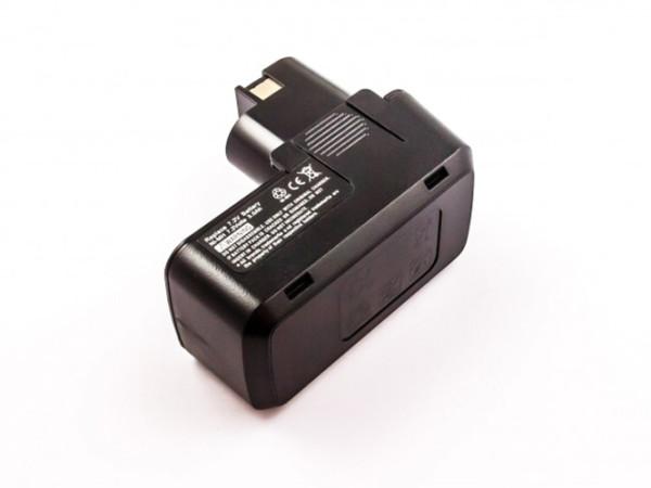 Akku für Bosch GUS, GNS, GDR, GBM, VE, VES, Würth ABS wie 2607355153, 7,2V, 3Ah, NiMh