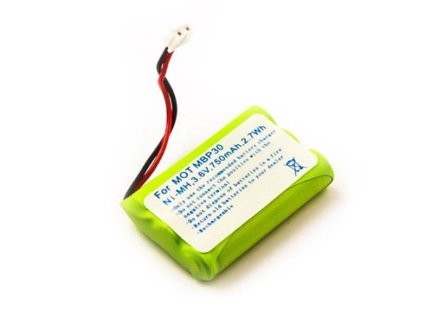 Akku für Babyphone Motorola MBP30, MBP36, 188610, wie TFL3X44AAA650-CD77-01B