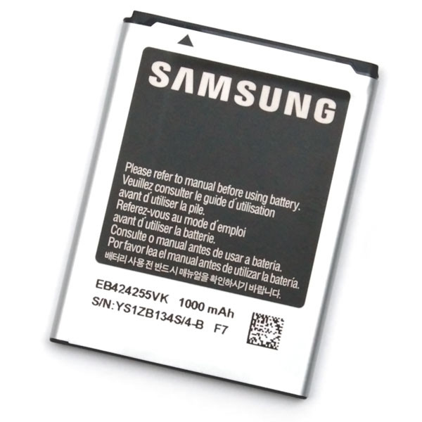 Akku Original Samsung EB424255VU für A667, A817, S3350 Chat 335, S3850 Corby II, T359, T479