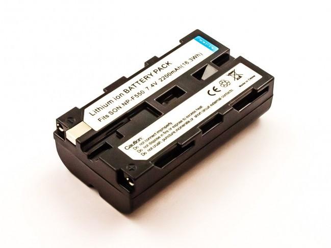 BLAUPUNKT Akku wie Sony NP-F330, NP-F550 für CCD-SC, CCD-TR, CCD-TRV, DCR-TR, DCR-VX, D...