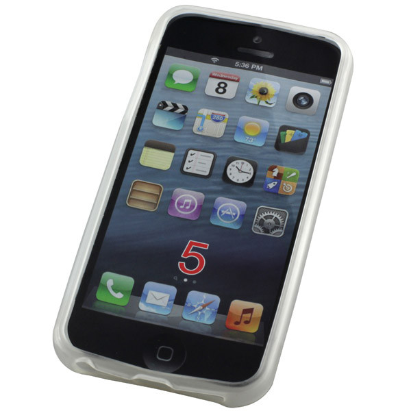 TPU-Case für Apple iPhone 5/5S, SE, transparent