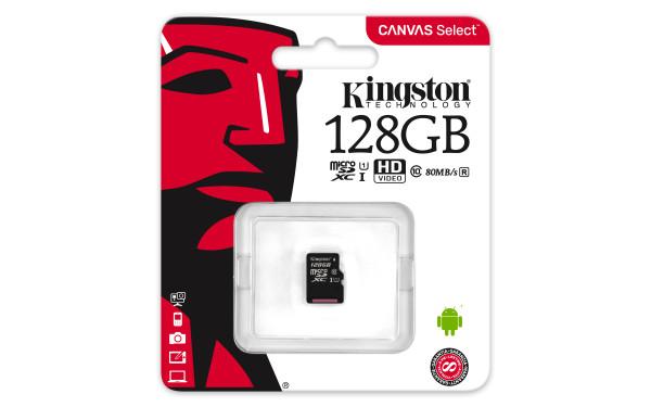 Speicherkarte micro-SDXC Card (Trans Flash), 128 GB, Class 10