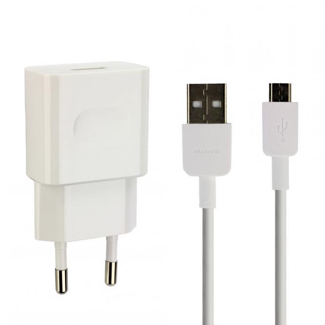 Netzlader Original Huawei HW-050200E01 incl. USB-Kabel, für Huawei Smartphone...