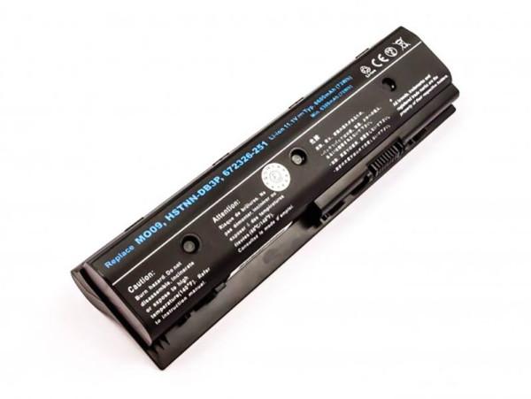 Hochleistungs-Akku für HP Envy DV4, DV7, M6, Pavilion DV4, DV6, wie HSTNN-LB3P, MO06, 6600 mAh