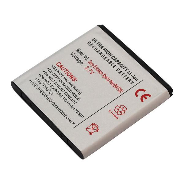 Akku für SonyEricsson Xperia Neo, Xperia Pro, Xperia Ray, entspricht BA700