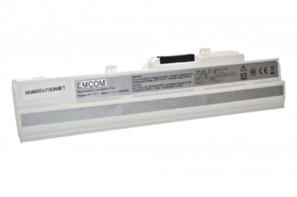 Akku für MSI Wind U100, Medion Akoya Mini E1210, wie BTY-S11, BTY-S12, TX2-RTL8187SE, 4400mAh