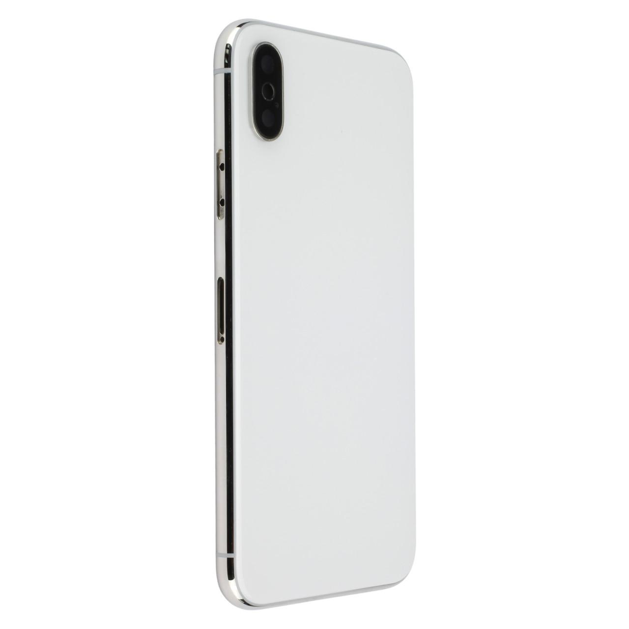 Apple Silbernes Cover (ohne Logo) für Rückseite, passend für iPhone XR