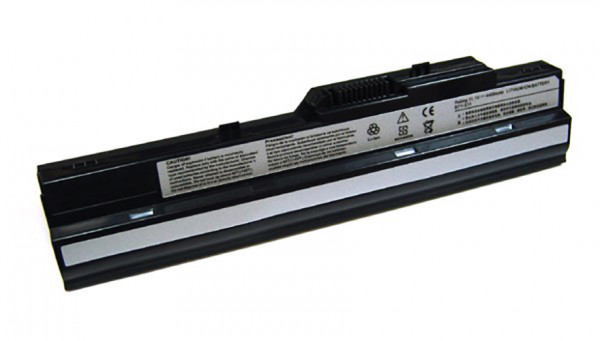 Akku für MSI Wind U100, U90, MS-N011, Medion Akoya Mini E1210, wie BTY-S11, BTY-S12
