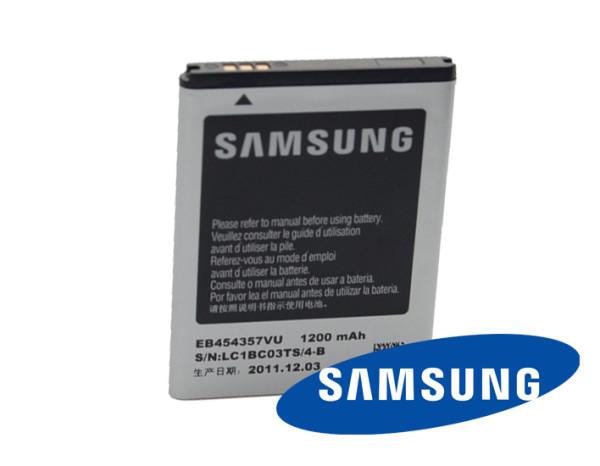 Akku Original Samsung für Samsung Galaxy Y Pro B5510, Galaxy Pocket S5300, Typ EB454357VU