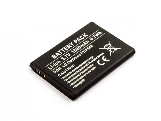 Akku für LG L90, F260, 3D Cube SU870, Bello, G3 Beat, Optimus F7, Optimus L8,...