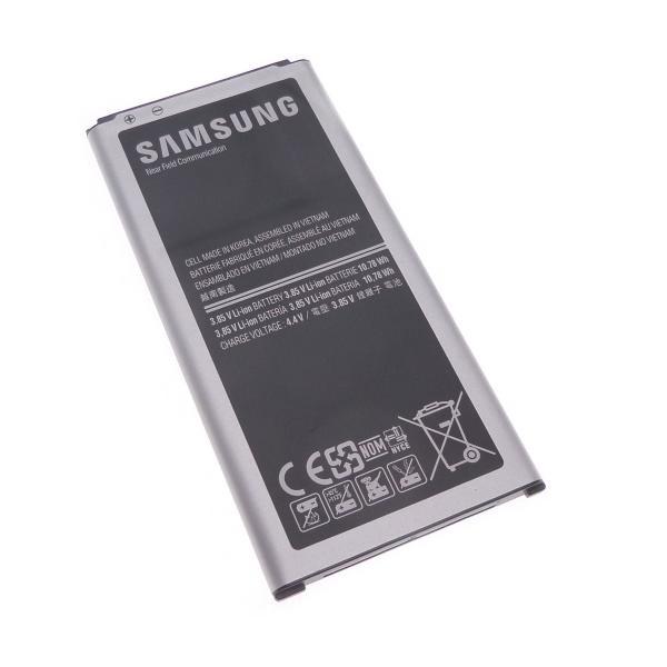 Akku Original Samsung für Galaxy S5 G900, Typ EB-BG900BBE, EB-BG900BBEGWW, 2800 mAh, 3.85V