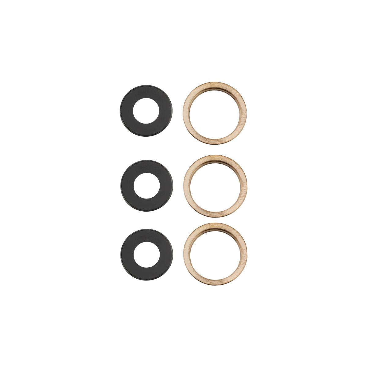 Apple Rücken- /Hauptkamera-Linsen und goldene Rahmen, passend für iPhone 11 Pro / 1...