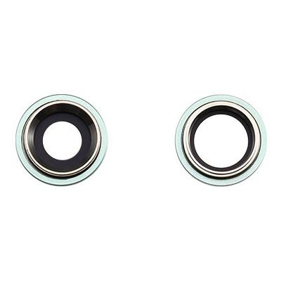Apple Rücken- /Hauptkameralinse, 2 Stück, passend für iPhone 11, grün