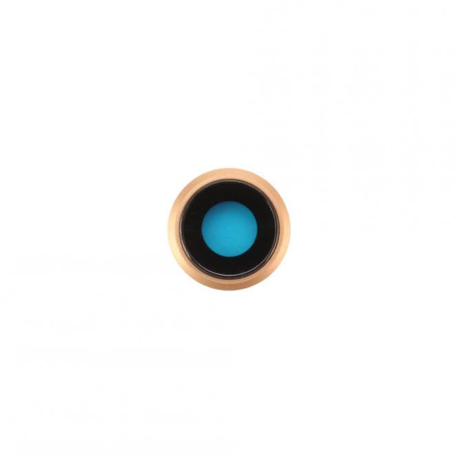Kamera-Linse mit Rahmen fĂĽr iPhone 8, gold