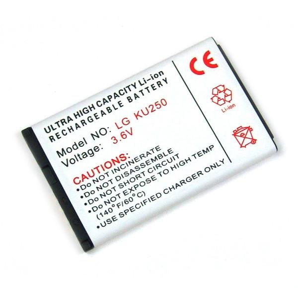 Akku für LG A110, A133, A170, GB110, GB130, GM205, KG280, KP130, KU250, KU380, wie LGIP-430A