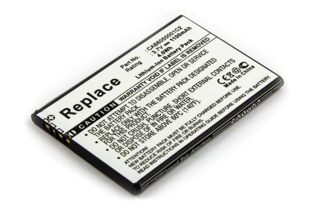 Akku für Alcatel One Touch V860, Vodafone Smart II, V860