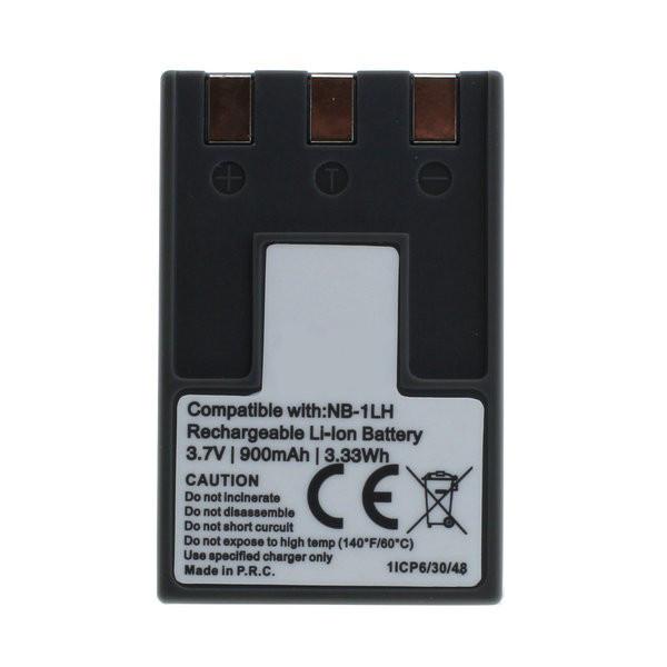 Akku wie Canon NB-1LH für Digital Ixus, Ixy Digital, Powershot 200, 300, 330,...