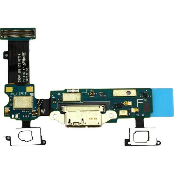 Micro USB Anschluss / Mikrofon Flex Kabel für Samsung Galaxy S5 G900F