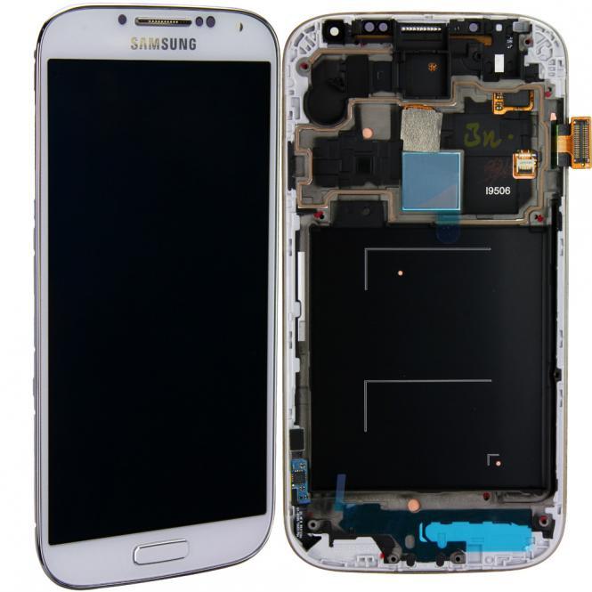 Komplett LCD+ Frontcover für Samsung Galaxy S4 GT-i9506, weiß