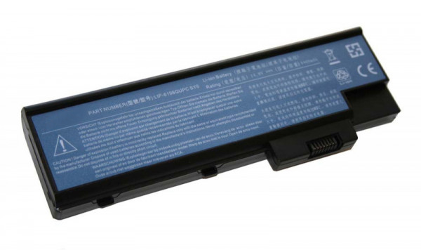 Akku für Acer Aspire 1410, 1680, 3000, 5000, Travelmate 2300, 3230, 4000, wie CGR-B/8B5AE, 4400mAh