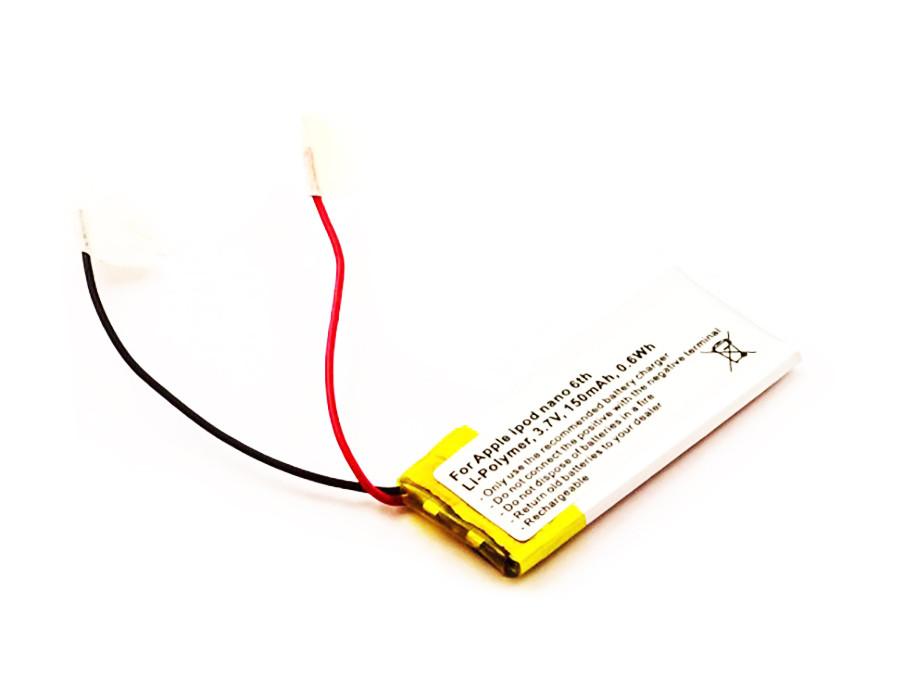 Akku für iPod Nano 6, Li-Polymer, wie 616-0531