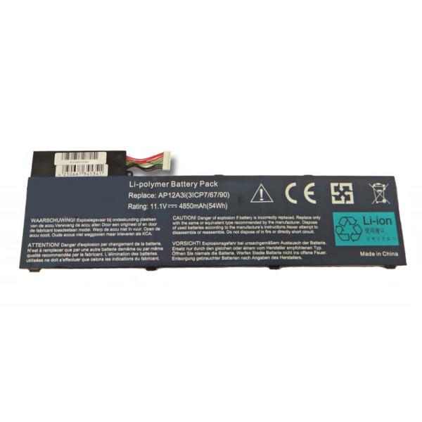 Akku für Acer Aspire M3, M5, Timeline U M3, Iconia Tab W700, Travelmate X483, P6, P648, 4850 mAh