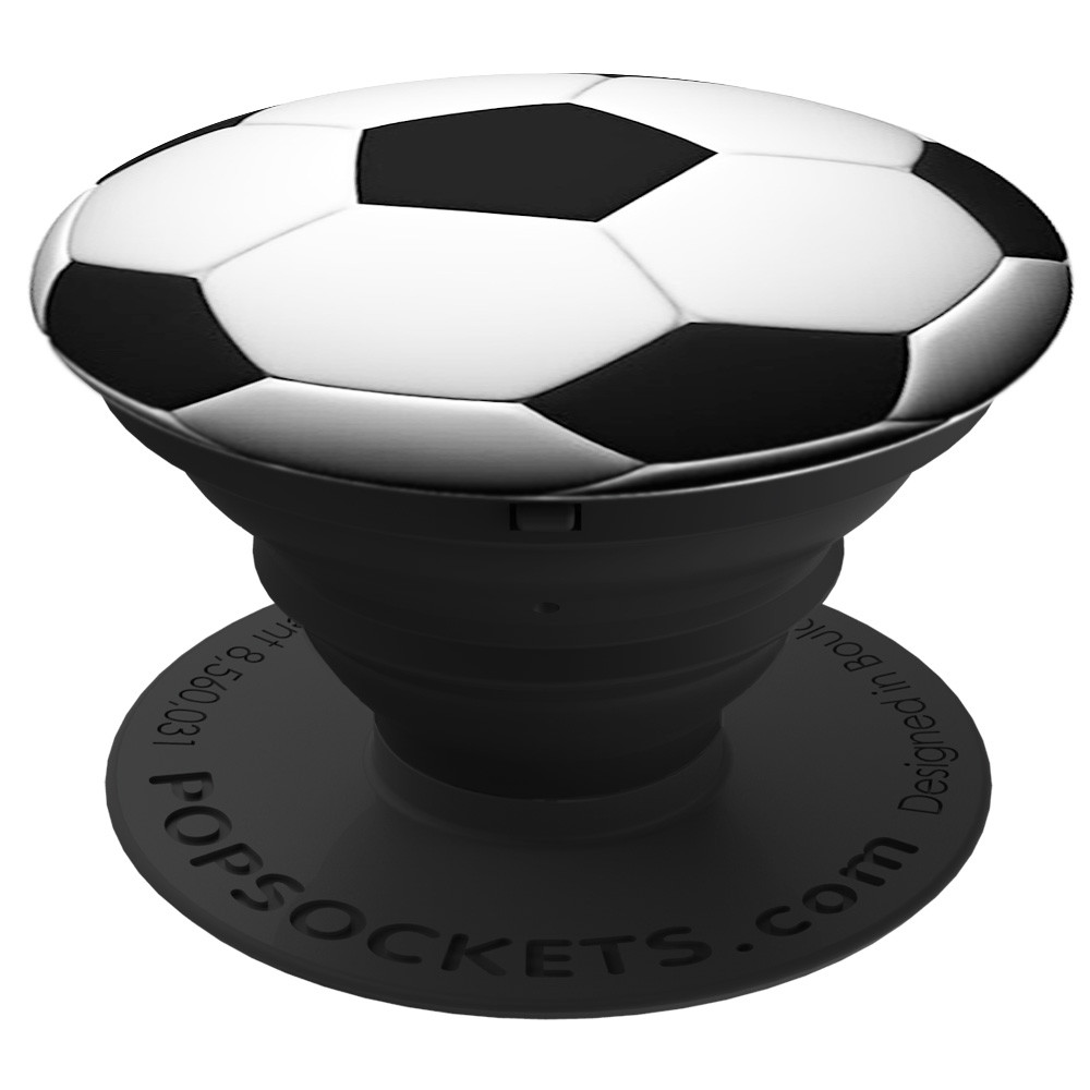 PopSockets Pop Socket Soccer - ausziehbarer Griff für Handys