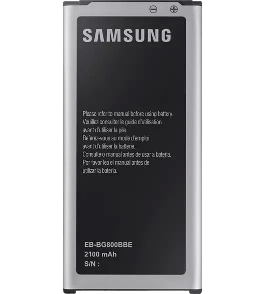 Akku Original Samsung für Galaxy S5 Mini G800, Typ EB-BG800BBE