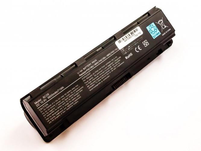 Hochleistungs-Akku für Toshiba Satellite C40, C45, C50, C55, C70, C75, wie PA...