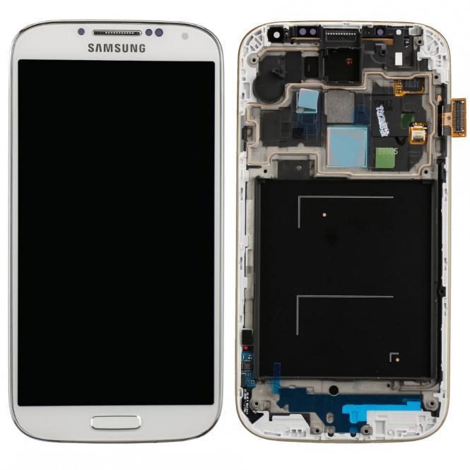 Komplett LCD+ Frontcover für Samsung Galaxy S4 GT-i9505, weiß