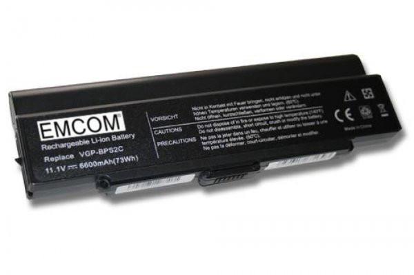 Hochleistungs-Akku für Sony Vaio PCG, VGN-FE, VGN-FJ, VGN-FS, VGN-SZ, VGN-Y, ...