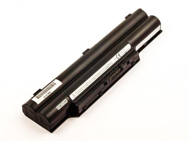 Akku für Fujitsu FMV-Biblo MG50, Lifebook E8310, wie FPCBP145, FPCBP145AP, FMVNBP146, 4400mAh