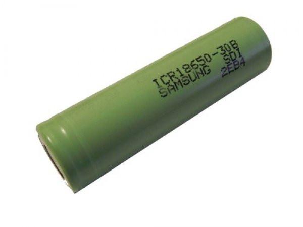Akku-Zelle Samsung ICR18650-30B, Größe 18650, Li-Ion, 3.6V, 3000mAh, 1 Stück