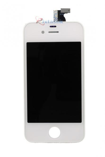 Display komplett inkl. Touchscreen fĂĽr iPhone 4, weiĂź
