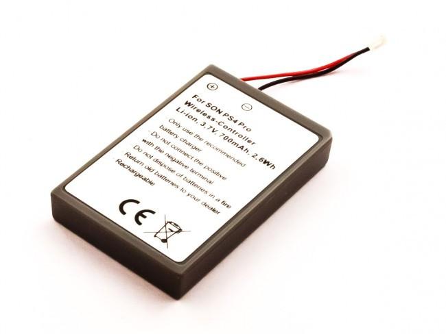 Akku für Sony PlayStation PS4 Pro Wireless Controller, wie LIP1522, 700 mAh
