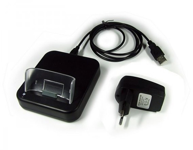 USB-Dockingstation für Apple iPhone 3G/3GS, schwarz