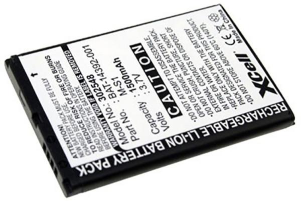 Akku für BlackBerry Bold 9000, 9700 Bold 2, 9780, entspricht M-S1