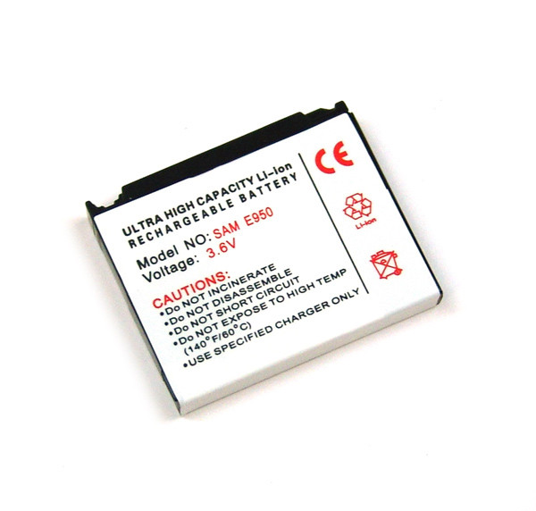 Akku für Samsung SGH-E950, E958, L170, L770, L810, P940, S3310, S7330, U800, wie AB653039CE