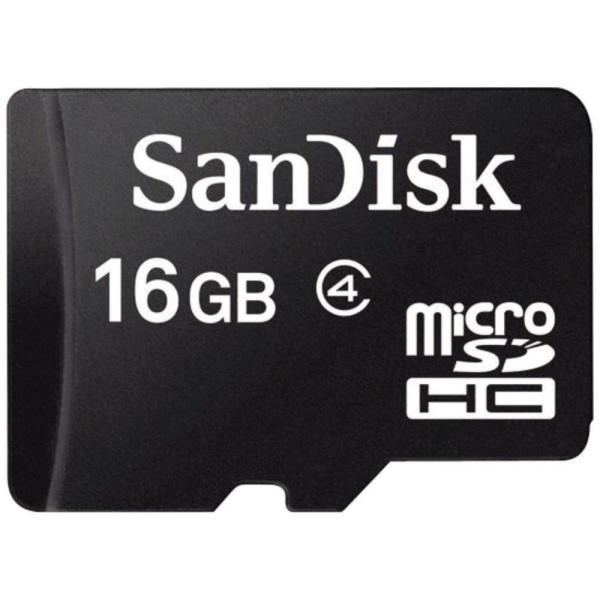 Speicherkarte micro-SD HC Card (Trans Flash), 16GB, Class 4