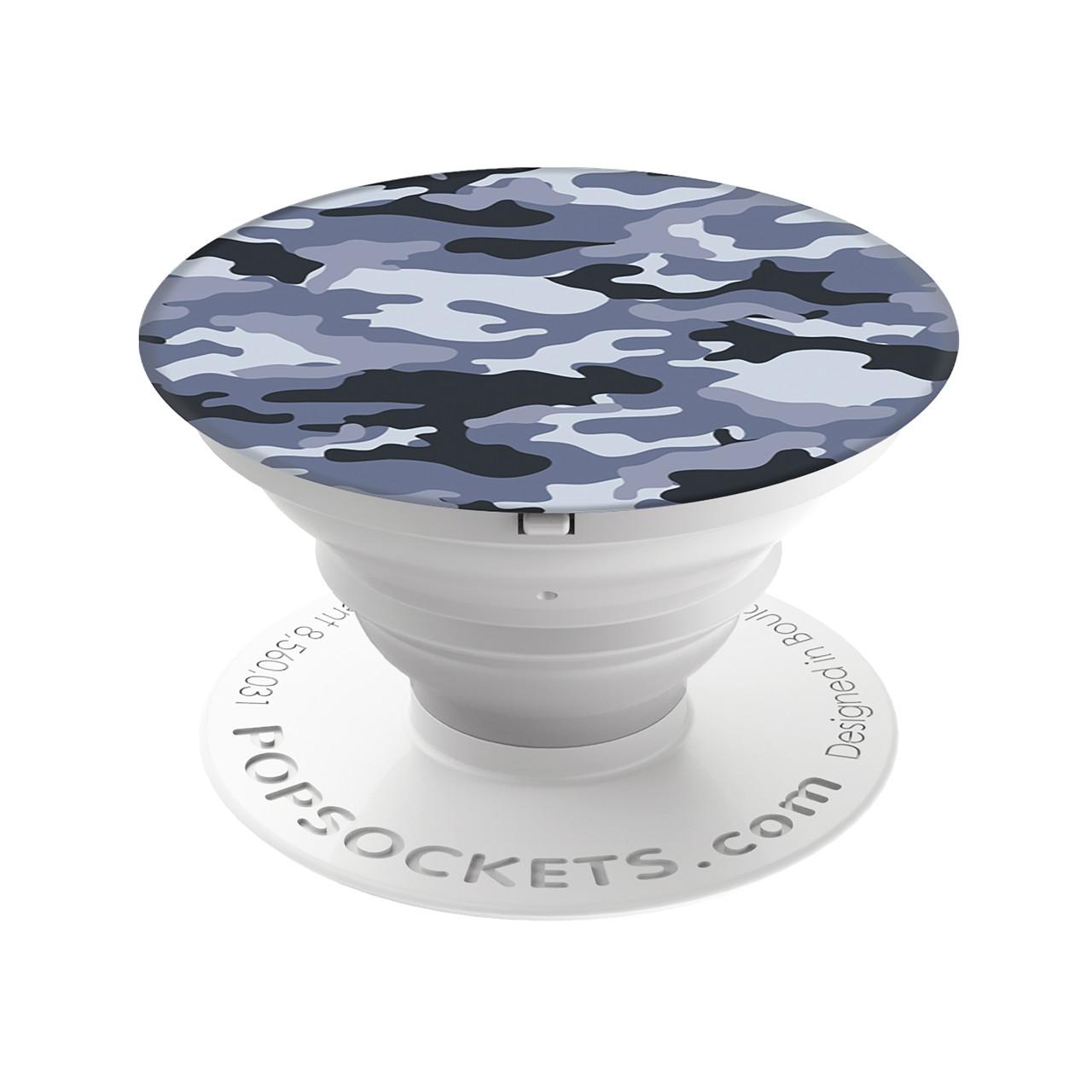 PopSockets Pop Socket Gray Camo - ausziehbarer Griff für Handys