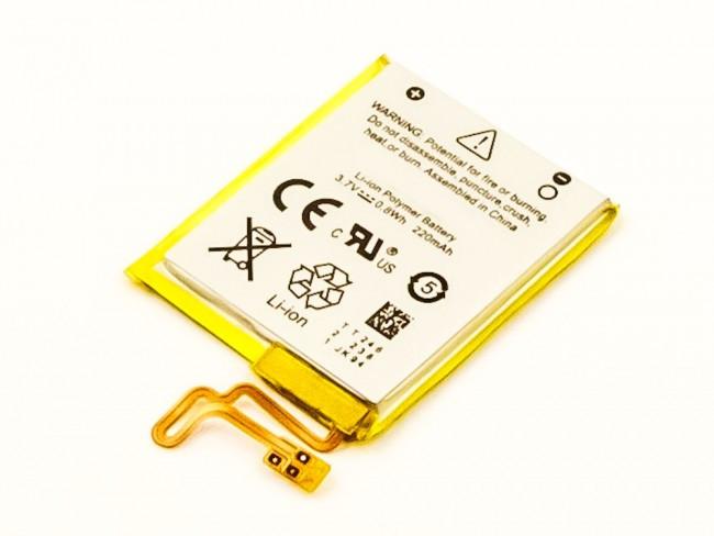 Akku für iPod Nano7, Li-Polymer, wie 616-0639, 616-0640