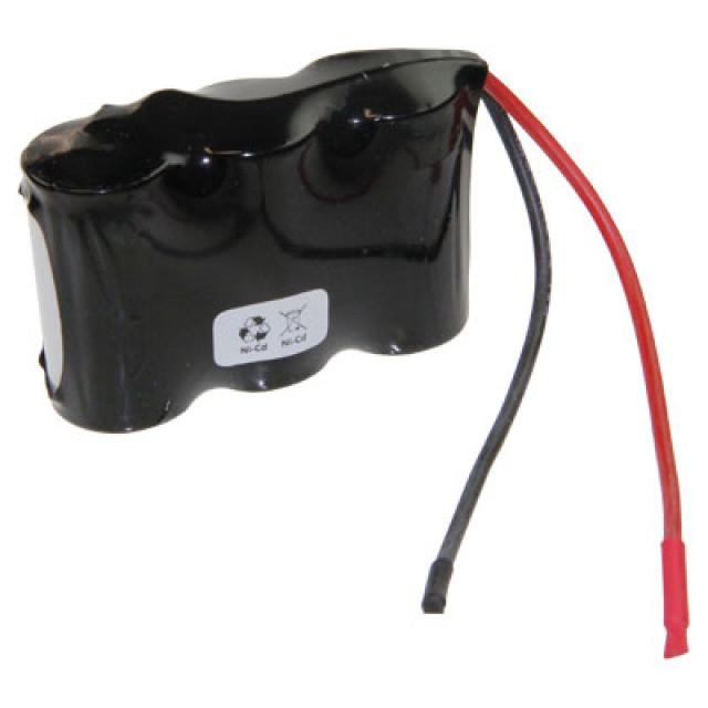 Akkupack für Notbeleuchtung 3.6V, F1x3 Saft, Sub-C, VNT CS mit Kabel