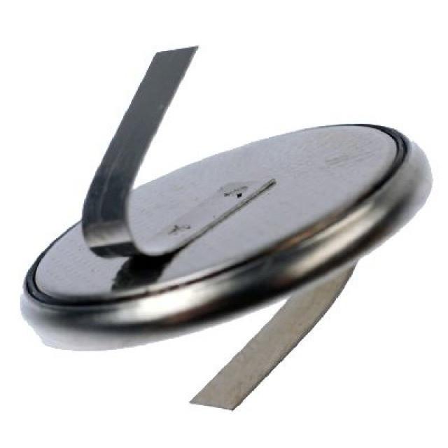 Knopfzellen / Uhr CR2016-1 Knopfzelle mit Z-Lötfahne